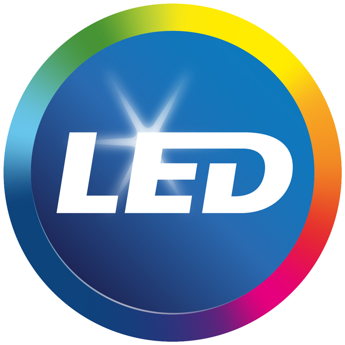 The LED logo
