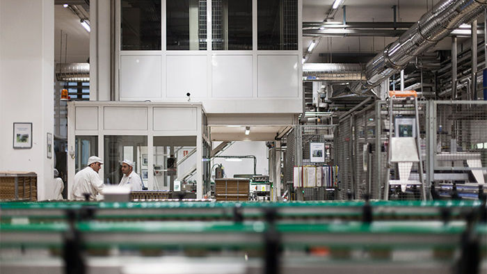 Philips food industry lighting illuminates Hero factory, which utilizes energy-saving LED lighting