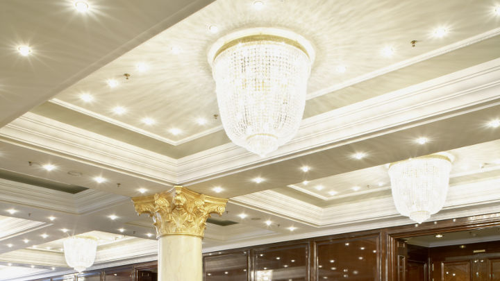 Ceiling lighting by Philips at Ritz-Carlton Hotel, Berlin