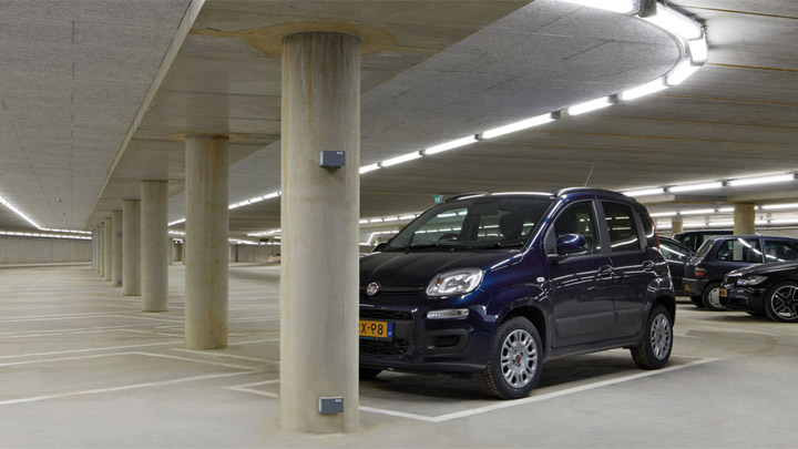 Pacific LED GreenParking luminaire - LED lighting for parking